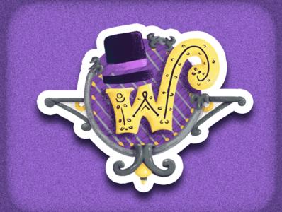 Wonka Badge