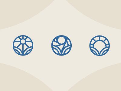 Logo concepts finance circle circle logo logo options graphic design identify logomark branding logo design