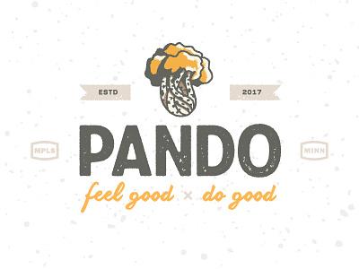 Pando Tree logo nature brand startup moccasins fashion brand fashion design nature tree identity logo pando