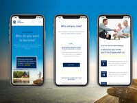 RBC Mobile homepage