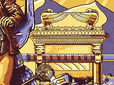 Ark of the Covenant photoshop digital design movie poster indiana jones illustration poster