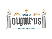 Omeros Olympus lockup