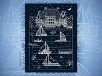 Posters for Parks: Year 1: Night Sailing