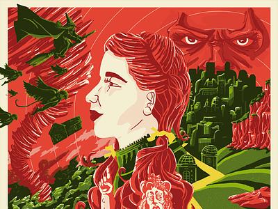 Wizard of Oz: Detail