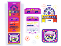 LaOssGa Ticket Design