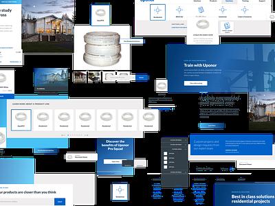 Component Mash Up responsive web design responsive design responsive system design pattern library component design system branding visual design web ux ui design web design