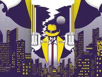 Night Smoke: Dick Tracy Poster
