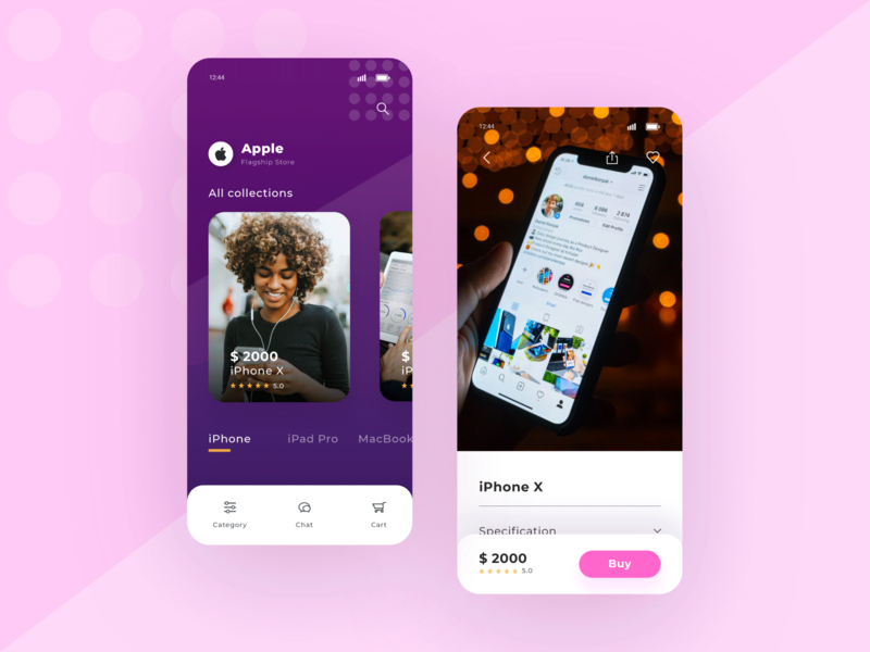 Exploration UI E-commerce e commerce design app ui pack design ecommerce app