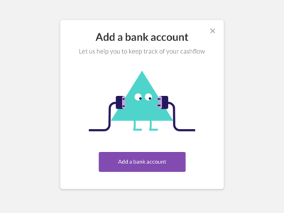 Adding a bank account character mascot management hr
