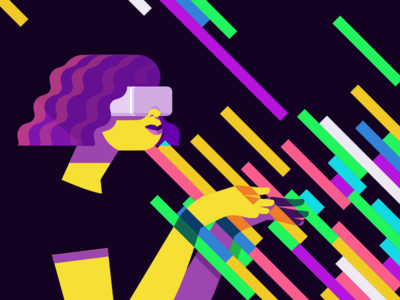 VR is Full of Colours
