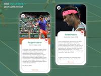 UI Challenge Tennis Court