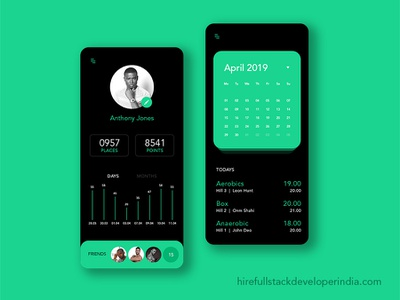 Daily UI Trends trend 2019 responsive ios iphone android ui ux animation vector logo app branding web illustration website design