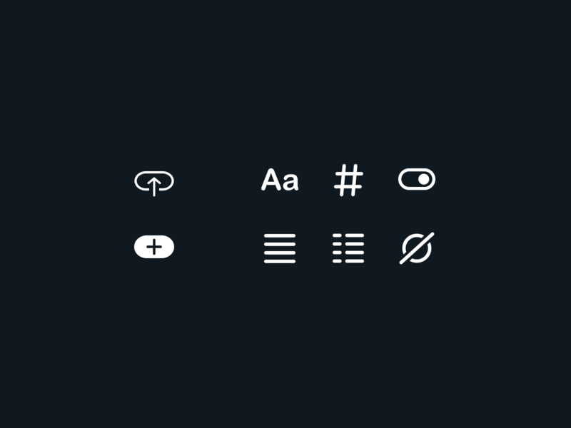Variable Glyphs