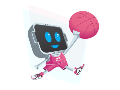 Whether it's a layup or a dunk, you always have to Dribbble! datarobot