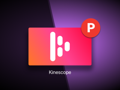 Kinescope on ProductHunt