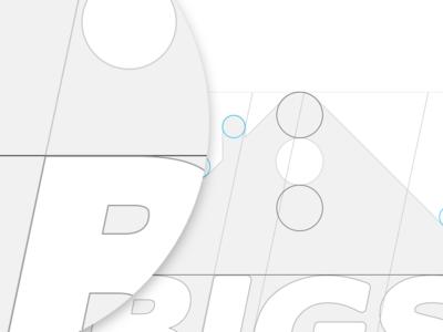 Bigsense Schema geometry construction blueprint house smart rules lines symmetrical symmetry logo