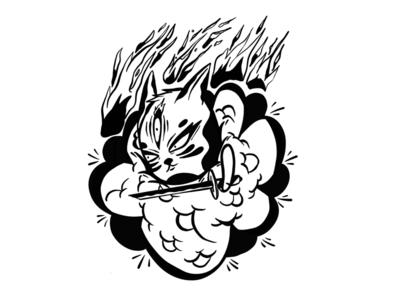 Ninja cat the smoke assassin