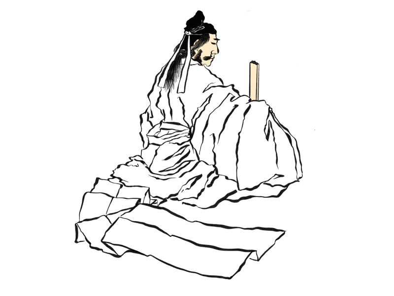 Hokusai Manga Reference v2 japanese art japan illustrator procreate ipad pro sax illustration