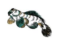Hokusai Fish