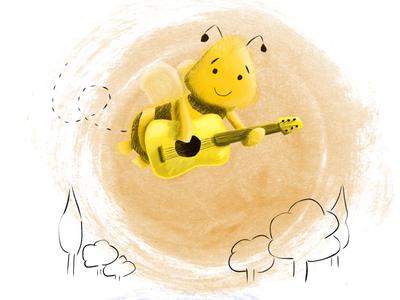 Children's book bee
