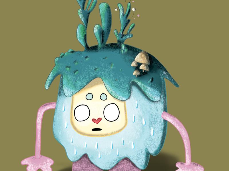Aqua monster monster digital illustrations digital illustration digital art
