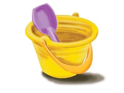 Bucket and shovel