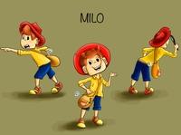 Character design Milo