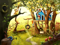Milo's cabin