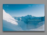 DailyUI : 003 // Landing Page