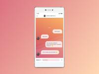 DailyUI : 013 // Direct Messaging