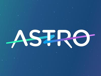 Astro 02 gradient email space logo