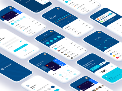 Standard Bank Redesign branding interface ui concept redesign banking app ios finance app