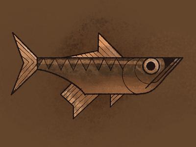 Fish procreate fish inktober2020 inktober