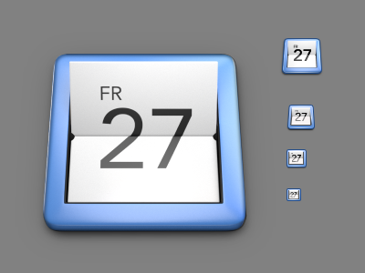 Calendar blender inkscape icon gnome calendar