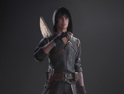 Swordsman - CloseUp