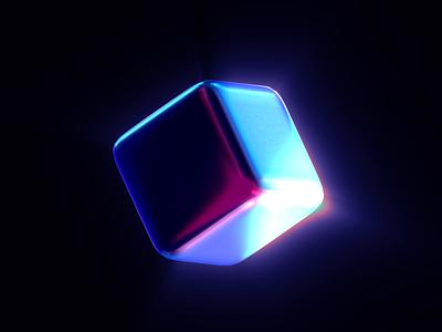 Shiny Texture Test design branding design shiny 3d animation branding minimal cube cinema4d 3dart c4d iridescent 3danimation 3d