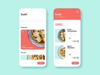 Sushi Delivery App