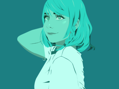 @niiiiiiinnnaa as Hina - Monochrome Illustration [BanDori]