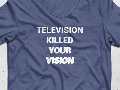 Funny Blurry vission t-shirt design