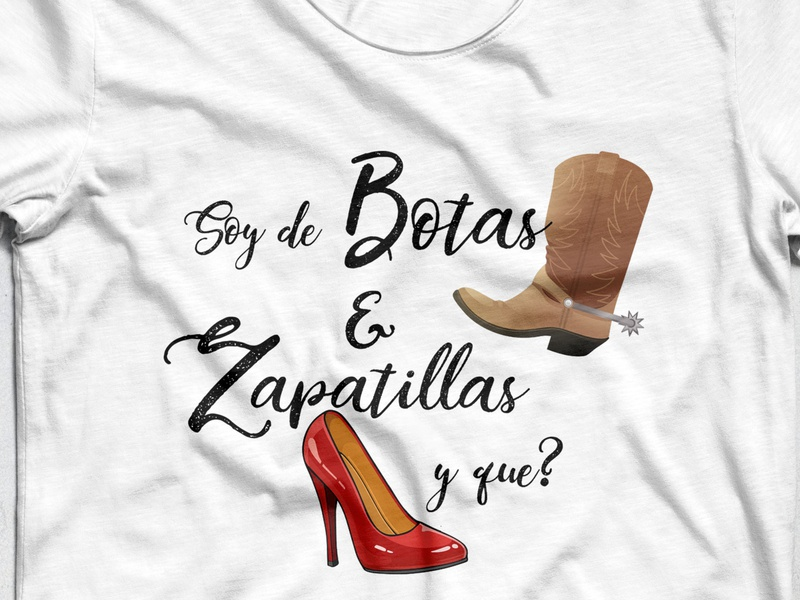 Urban Mexican shirt Design with calligraphy