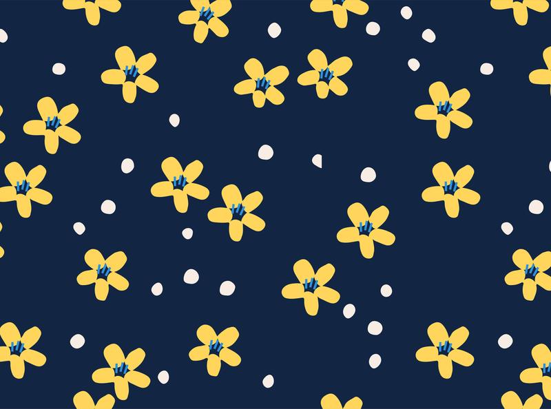 Flower Seamless Pattern flower illustration typography merchandise design merchandise tee fabric trendy logotype apparel design fashion illustation flowers illustrator vector autumn flower autuml leaves autumn seamless pattern flower