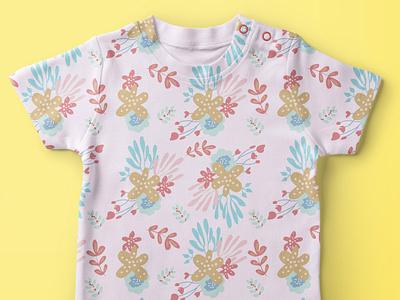 Flower Pattern flower print vintage flower illustration flower pattern seamless pattern kids pattern boho style
