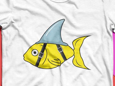 Mimicry fish t-shirt Design