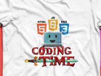 Coding time t-shirt