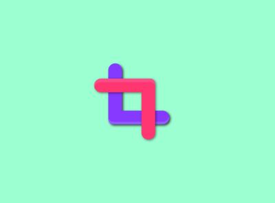 square logotype concept