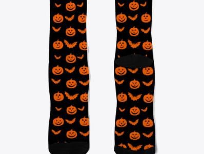 Funny Halloween socks