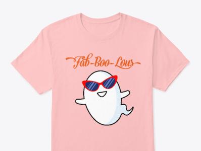 Funny Halloween shirt (Fab-Boo-Lous)