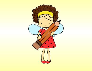 fairy girl illustration