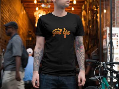 Typographic t-shirt graphic