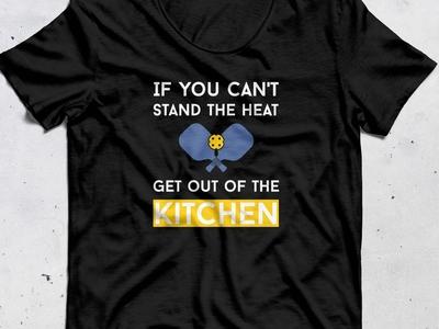 pickleball t-shirt graphic